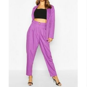 BooHoo - High Waisted Trouser and Blazer